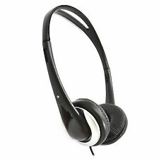 6m Stereo/mono Super Bass Sound Cushioned TV Headphones - Long Cable 008117