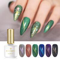 BORN PRETTY Holographisch Magnetische Nagellack Cat Eye UV Gellack Nail Art Gel