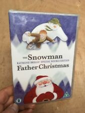 The Snowman/Father Christmas-Raymond Briggs(R2 DVD)New+Sealed Mel Smith Aled CH4