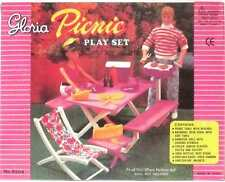 DOLL HOUSE FURNITURE  Picnic Play Set  Fits Barbie  By Gloria