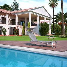 Gebraucht Sonnenliege  Gartenliege  Strandliege  mit Sonnendach R184226B+GCB19T