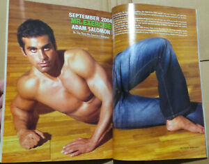 Exercise For Men Only Magazine Mr Exercise Men's Health Fitness Workout Muscles