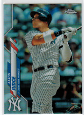 2020 Topps Chrome Silver Refractor #50 Aaron Judge
