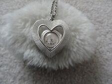 Up Necklace Pendant Watch Vintage Prestige 17 Jewels Wind