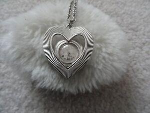 Vintage Prestige 17 Jewels Wind Up Necklace Pendant Watch