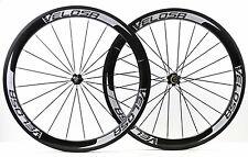 Velosa super sprint 50 full carbon wheel,700C road bike 50mm carbon wheelset