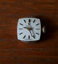 LADIES 1971 OMEGA WATCH MOVEMENT RUNNING CALIBER 485 13 BY 13 DIAL