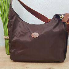Longchamp Hobo Bag Wickeltasche crossbody braun original
