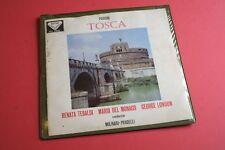 SXL 2180/ WBg ED1 Puccini Tosca Tebaldi Molinari-Pradelli DECCA UK STEREO 2LP