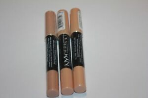 3X NYX Cosmetics GOTCHA COVERED CONCEALER PENCIL Cover-up Blemish #02,03,05