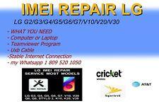 imei repair lg g2/g3/g4/g5/g6/g7/v10/v20/v30/k4/k7/k8/k10/k20