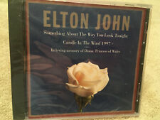 Elton John Something about the Way You Look Tonight Candle in the Wind 97 CD NEW