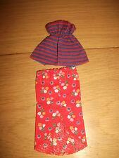 Barbie/Petra - Kleidung 60/70 er Jahren ( Set 78 )