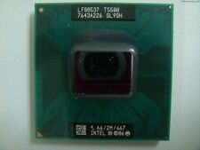 CPU Intel Dual Core DUO Mobile T5500 1,66/2M/667 SL9SH processore socket 478 479