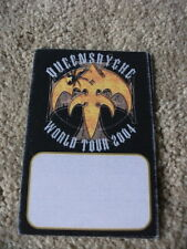 Queensryche World 04 Tour Concert Pass Peel & Stick Backstage