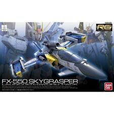 Gundam 1/144 RG #06 FX-550 Skygrasper Launcher / Sword Pack Model Kit Bandai