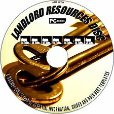 ULTIMATE LANDLORD/LETTING RESOURCE CDROM, AGGREEMENTS, LETTERS, FORMS DOCS NEW