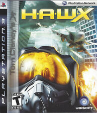 TOM CLANCY'S H.A.W.X. HAWX for Playstation 3 PS3 with box & manual - US version