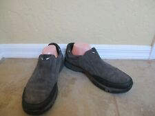 Clarks Plus Gray Suede Loafers For Men Size  11 M Eur 44