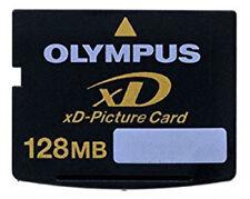 GENUINE OLYMPUS 128MB XD MEMORY CARD STANDARD TYPE FUJI FINEPIX/OLYMPUS CAMERAS