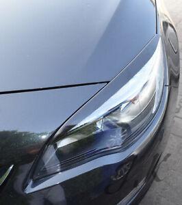 Fits Vauxhall Opel Astra J MK6 - Eye Brows Head Light Cover Set