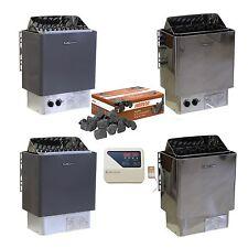 Saunaofen 4,5kW - 6,0kW - 9,0kW 400V 3N mit interner, oder externer Steuerung
