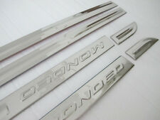 Chrome Door Sill Body Side Molding cover trim For Ford 2013-2015 Mondeo Fusion