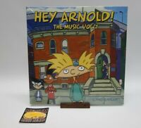 New Jim Lang - Hey Arnold! The Music, Vol. 1 UO Sky Blue Vinyl LP In Hand