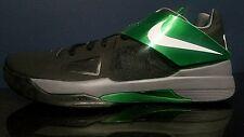 Nike Zoom KD IV Men's Basketball Shoes Black/Green 473679004 Size 17 New