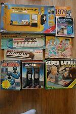 Lot jouets vintage 80 ludophone talkie Saint seya bontempi bureau de poste...