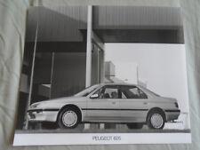 Peugeot 605 Press Photo brochure c1990's v1