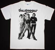 The Stooges Iggy Pop Proto Punk Rock Band Tom Petty Minuteman New White T-Shirt