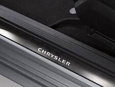 6 x Chrysler Aufkleber für Einstiegsleisten SRT Crossfire 300C 300M Emblem Logo