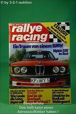 Rallye Racing 12/78 BMW Alpina B6 Porsche 924 turbo + Poster