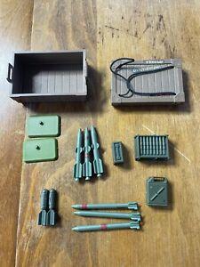 1985 GI Joe Ammo Dump Unit Complete 3.375 ARAH Real American Hero