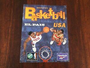 NBA 1996 sticker album COMPLETED Michael Jordan Pippen Miller Rodman Malone