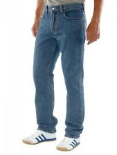 New Levi's Mens 505 4891 Regular Fit Straight Stonewash Denim Jeans 32 X 36