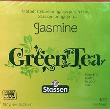 Stassen, Jasmine Green Tea, 100 Tea Bags, Quality #1 ( New Package )