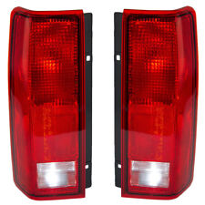 TAIL LIGHT PAIR FIT CHEVROLET ASTRO 1985-2005 GM2801112 5978024 GM2800113