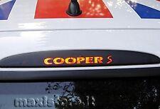 Adesivo Sticker Terzo Stop per Mini Cooper S CooperS - Personalizzalo con 2€!