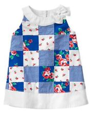 NWT Gymboree GAZEBO PARTY Baby Girls Patchwork Dress Flower Size 3-6 M