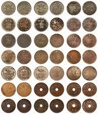 Netherlands Indies - Lot 1 Cent 1856 / 1945 - 21 stuks