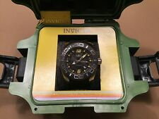 Invicta 50mm Automatic - Black Dial Great watch Mint Condition with Dive case!