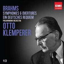 Otto Klemperer - Brahms: Symphonies; Ein Deutsc NEW CD