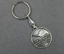 James Avery Sterling Silver Key Ring Holder Key Chain Isaiah 40.31