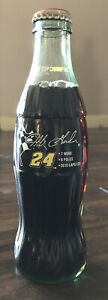(1) Vintage 1995 Jeff Gordon #24 Winston Cup Champion Unopened Coke Bottle