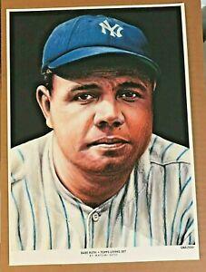 Babe Ruth 2018 Topps Baseball Living Set 10 x 14 Fine Art Print # 62/100 YANKEES