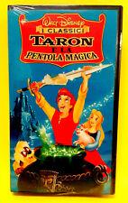 TARON E LA PENTOLA MAGICA cartone animato Walt Disney VHS video idea regalo 2018