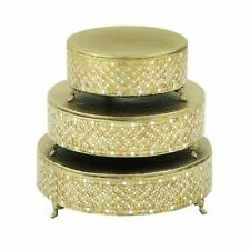 Gold Cake Stands For Sale Ebay