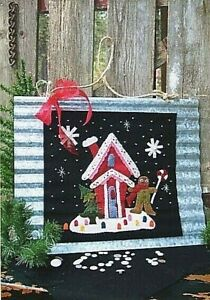 """New Wool Felt or Quilt Pattern VISIONS OF SUGAR PLUMS 13½"""" x 14½"""""""